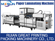 RUIAN GREAT PRINTING PACKING MACHINERY CO., LTD.