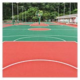 Silicon PU Sports Surfacer Cushion Material