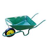Wheelbarrow and Wheel