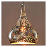 Punched Metal Light