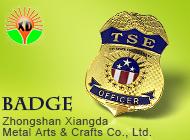Zhongshan Xiangda Metal Arts & Crafts Co., Ltd.
