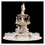 Desert Gold Sculpture Fountain