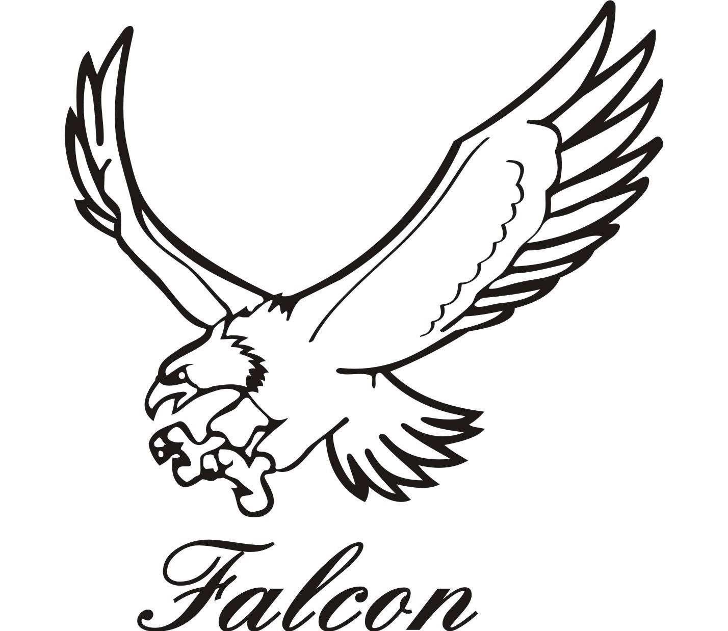 Falcon graphic - photo#19