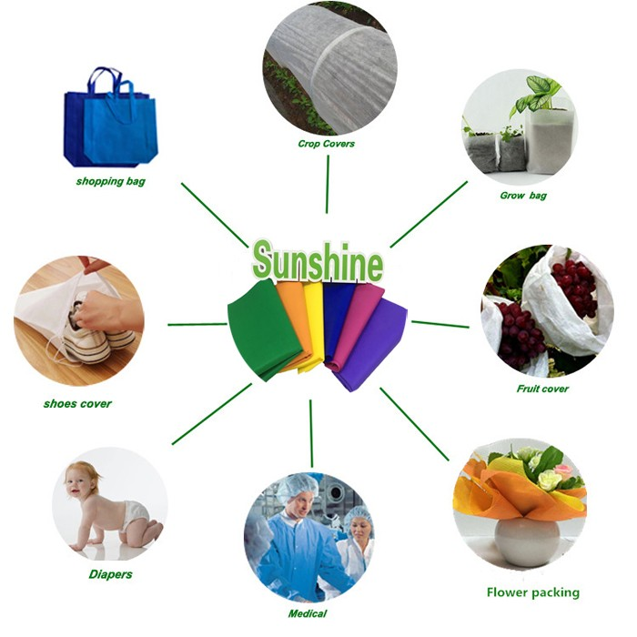 Sunshine nonwoven fabric catalog