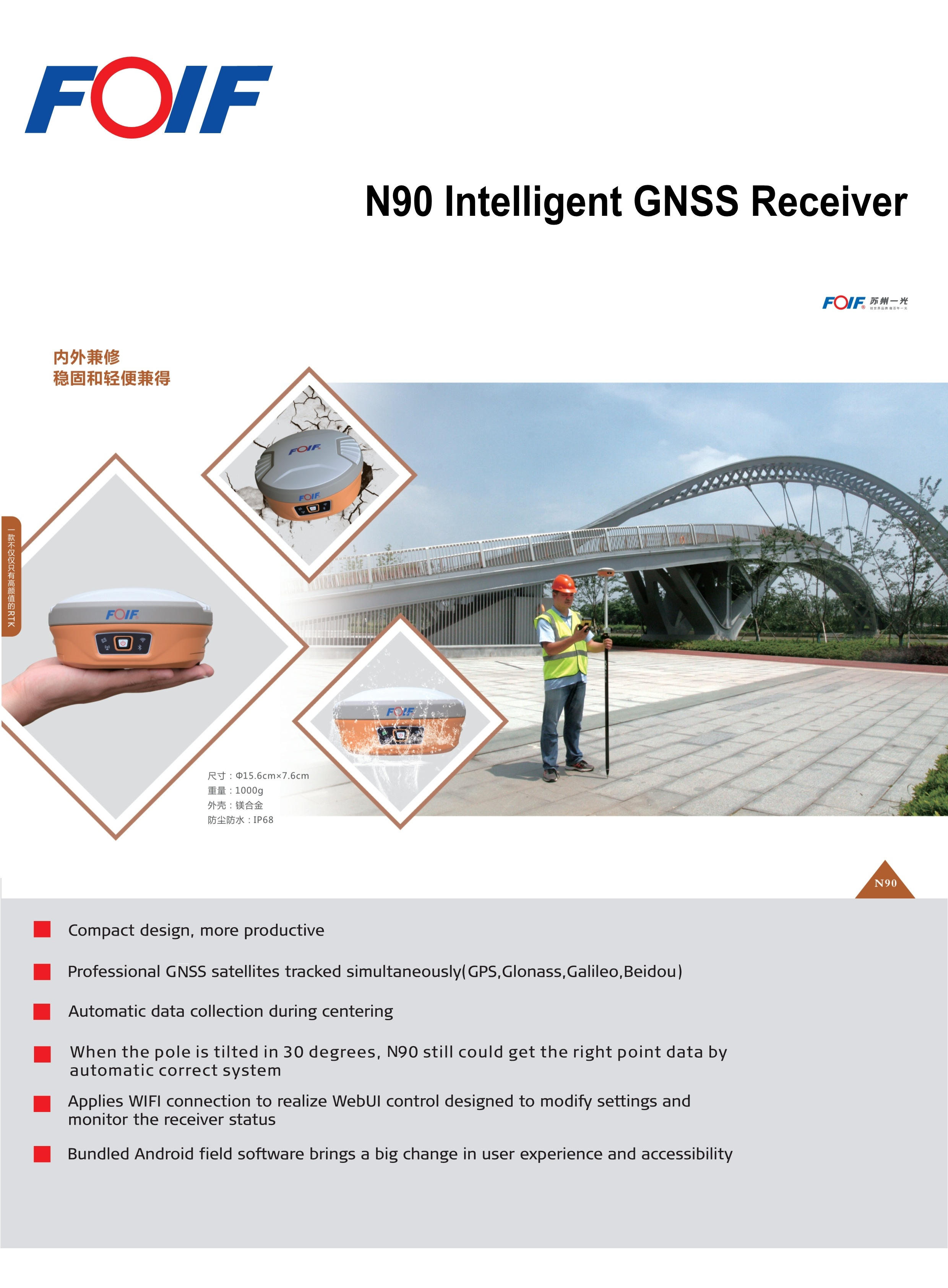 N90 Gnss RTK GPS System introduction
