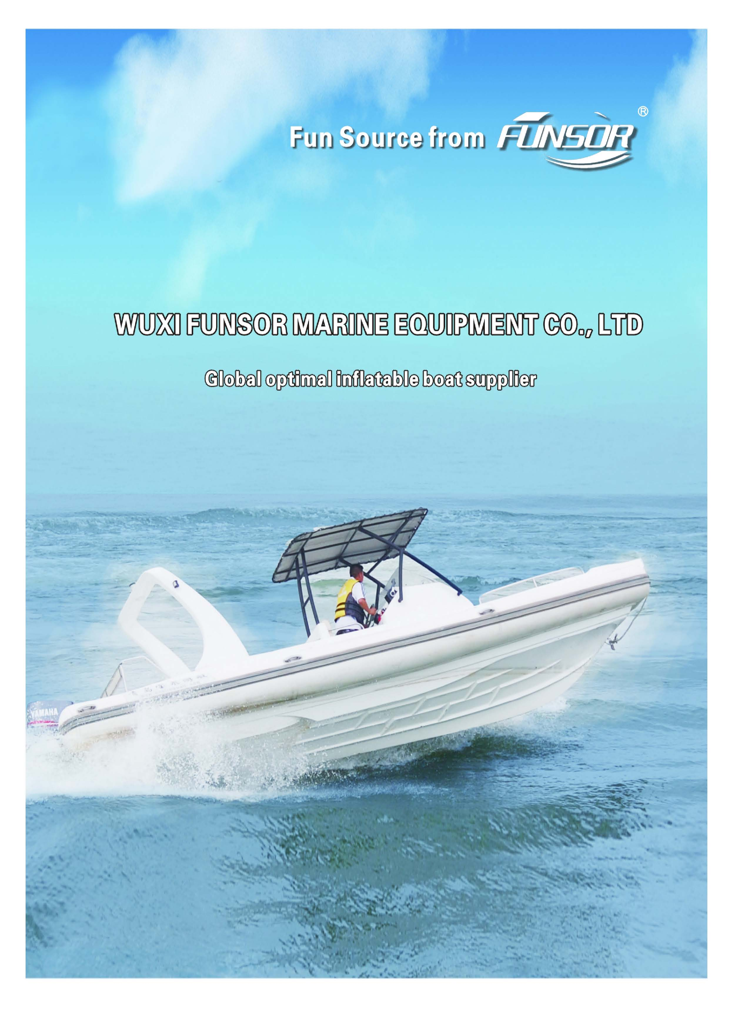 E-catalogue of inflatable boat 2018 version