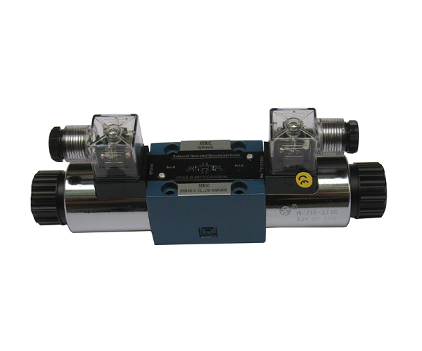 4WE series solenoid directional valves