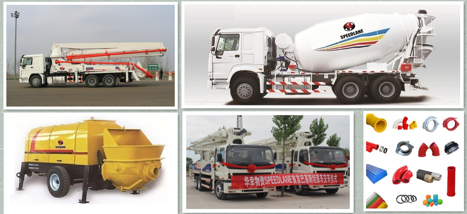Concrete and construction machinery from HUAXING China