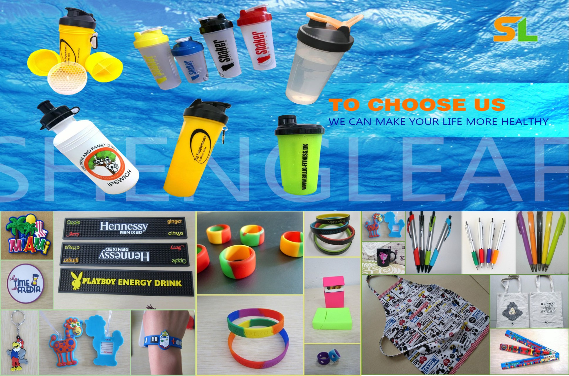 promotional Product catalogo from sheng leaf
