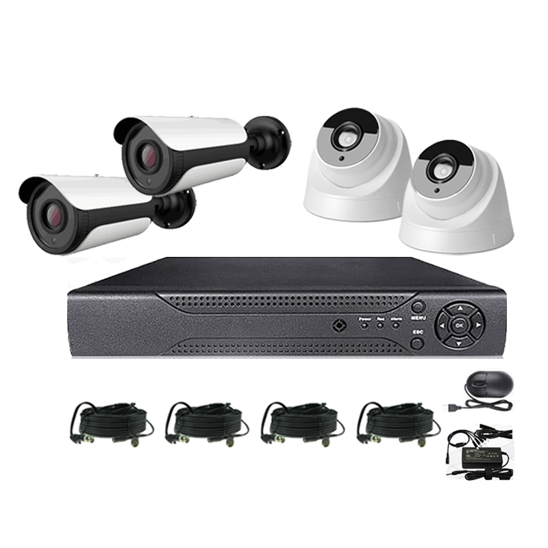 1.0-8.0MP AHD DVR Kits