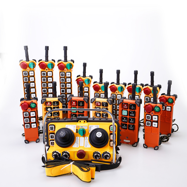 Product Catalogue of industrial radio remote control
