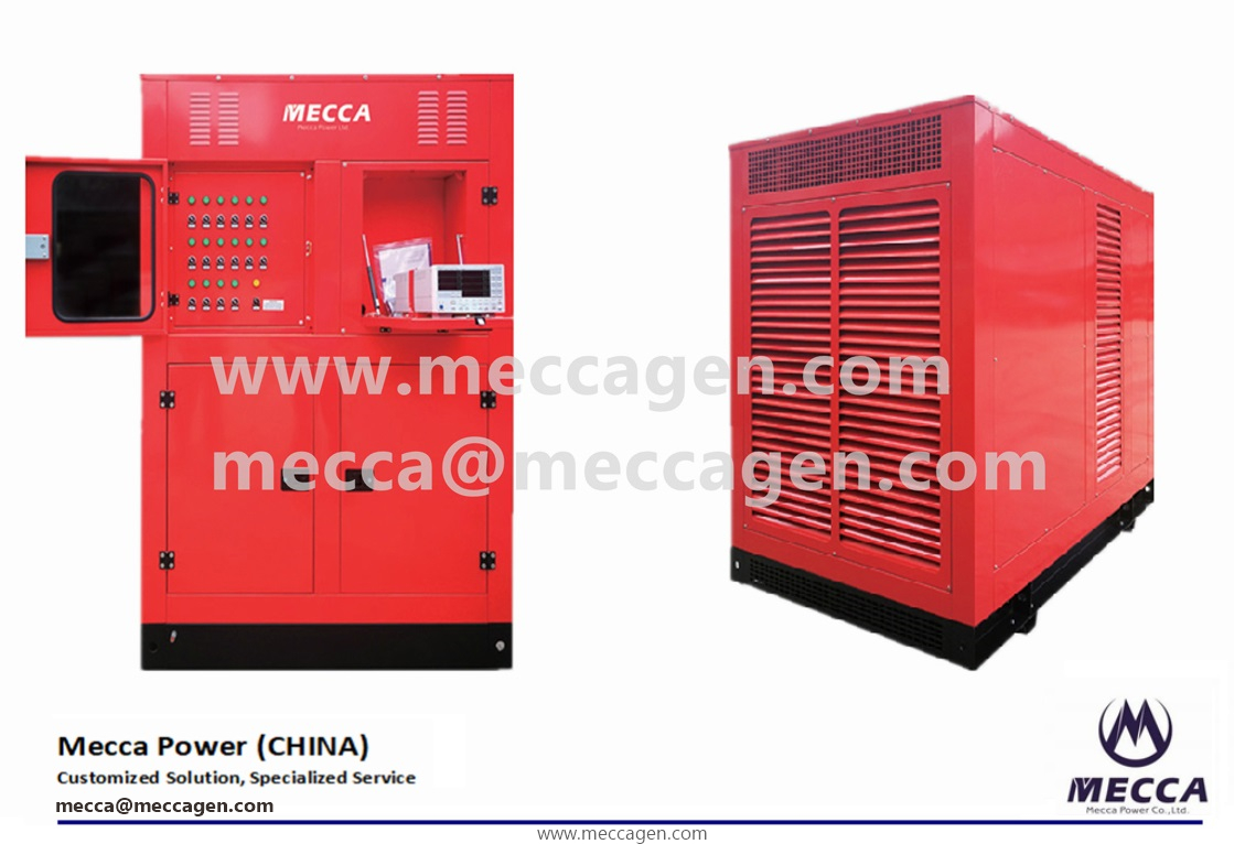 Catalog & Data of 800kW/1000kVA Load Bank-Mecca Power