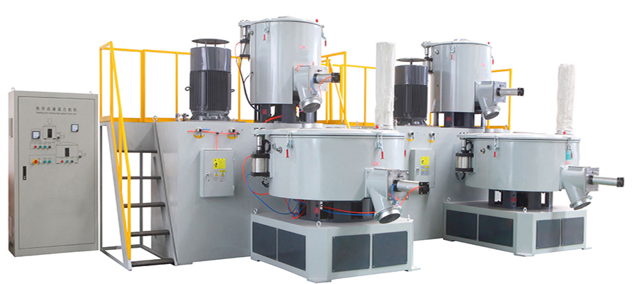 Vertical PVC/WPC High speed Heating/Cooling Mixer