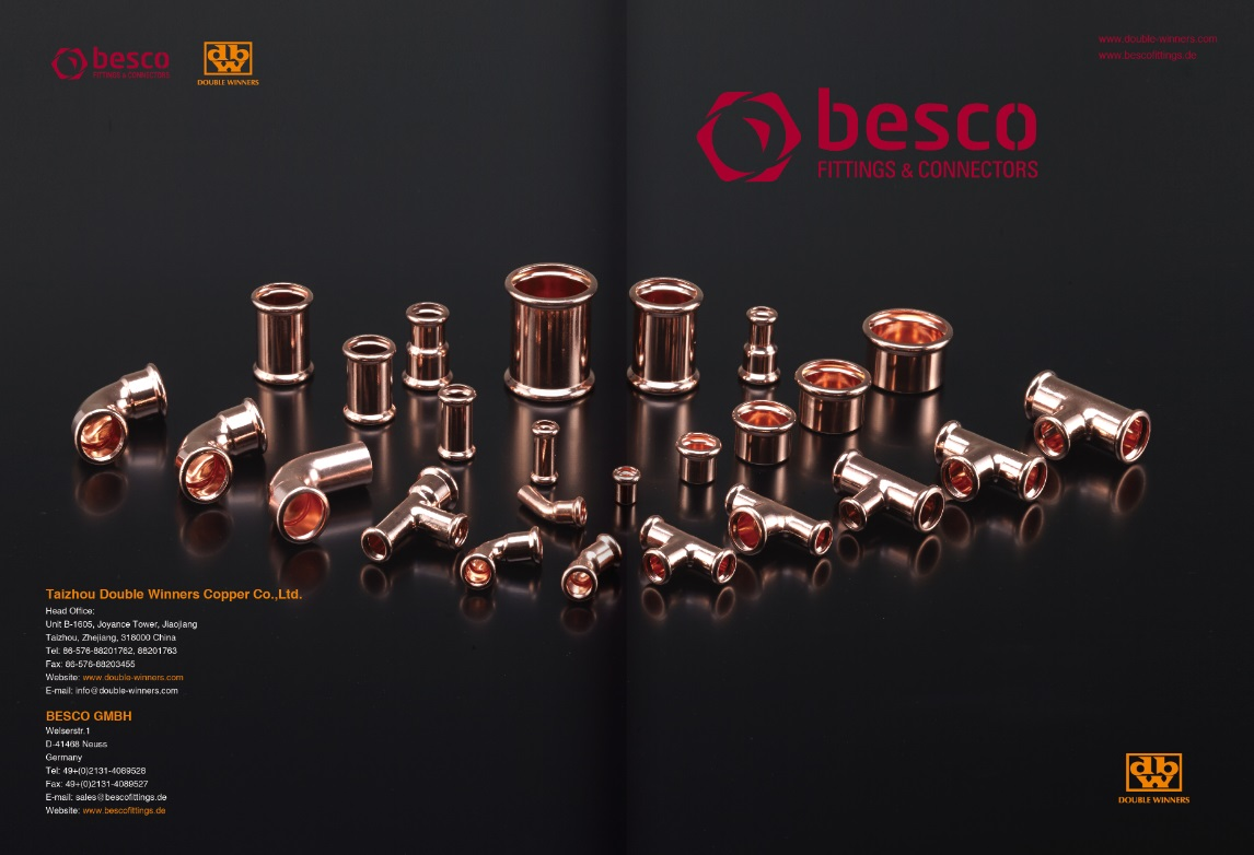 DBW copper press fittings