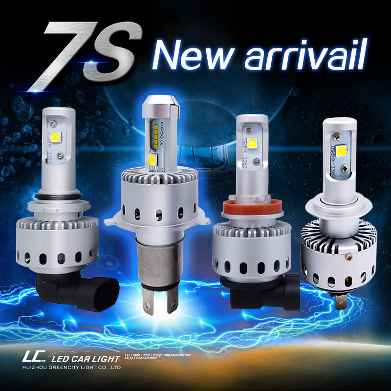 7S Cree , All in one, Play and Plug LED Headlight