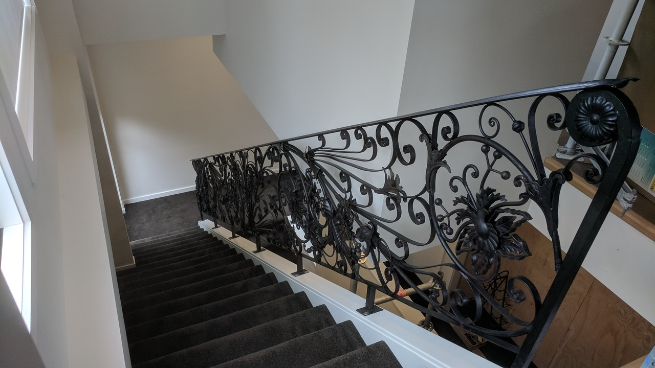 Tiansheng Wrought iron Railing,fence,and stairscases
