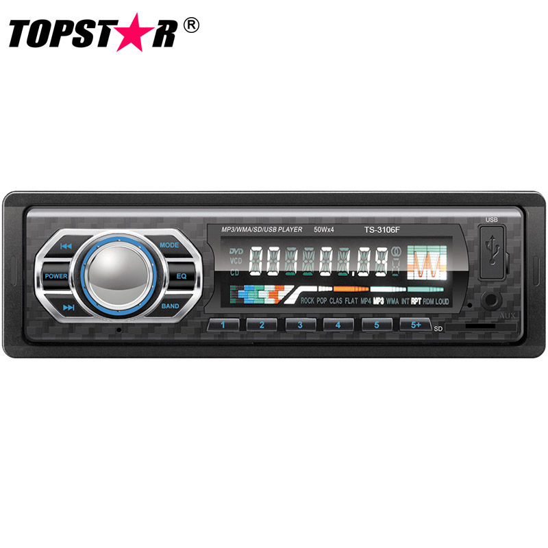 Fixed panel.Car Mp3 Player.TOPSTAR
