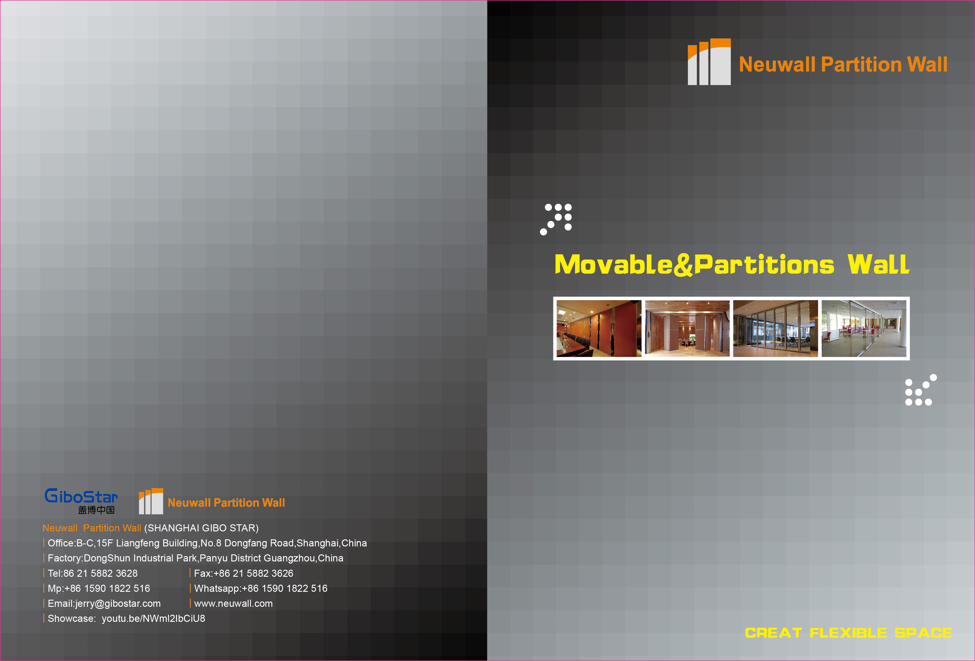 Operable Partition Wall Brochure_Neuwall Partition Wall