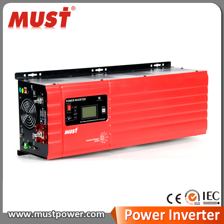 Pure sine wave inverter /charger EP3000 PRO from 1kw to 6kw