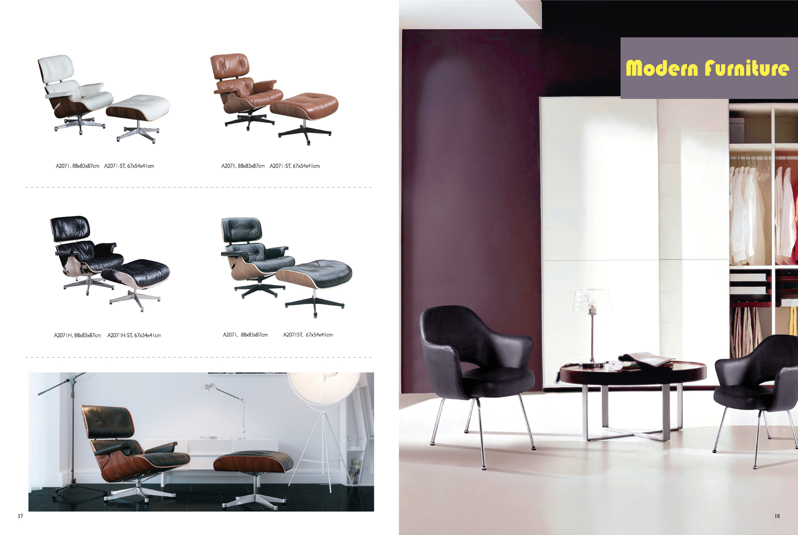 MODERN CLASSIC FURNITURE CATALOGUE