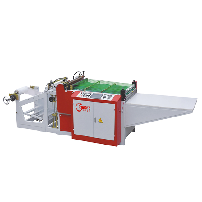 Heavy duty plastic bag making machine