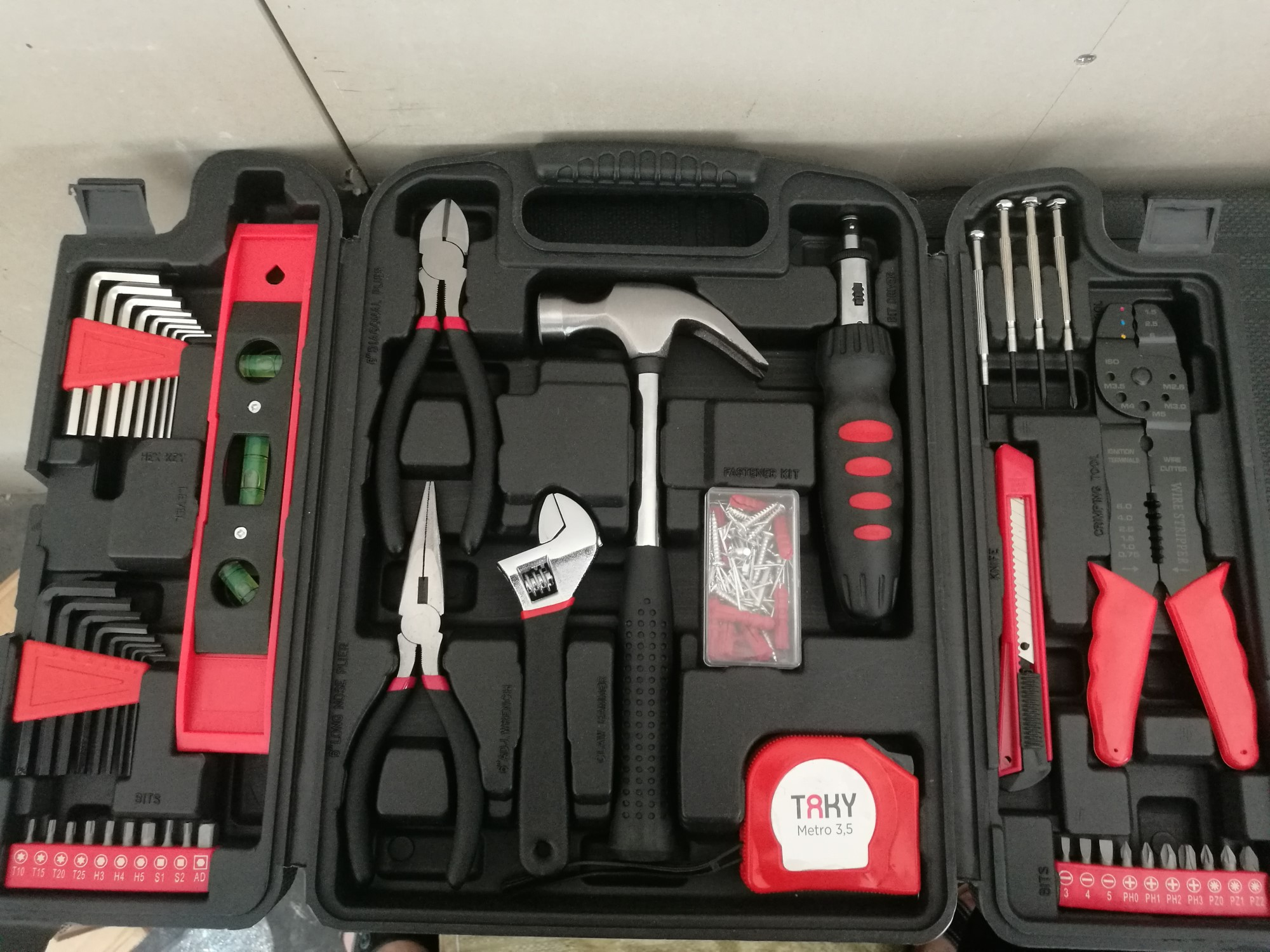TOOL SET RECOMMEND& AVALIABLE ITEM IN HAND