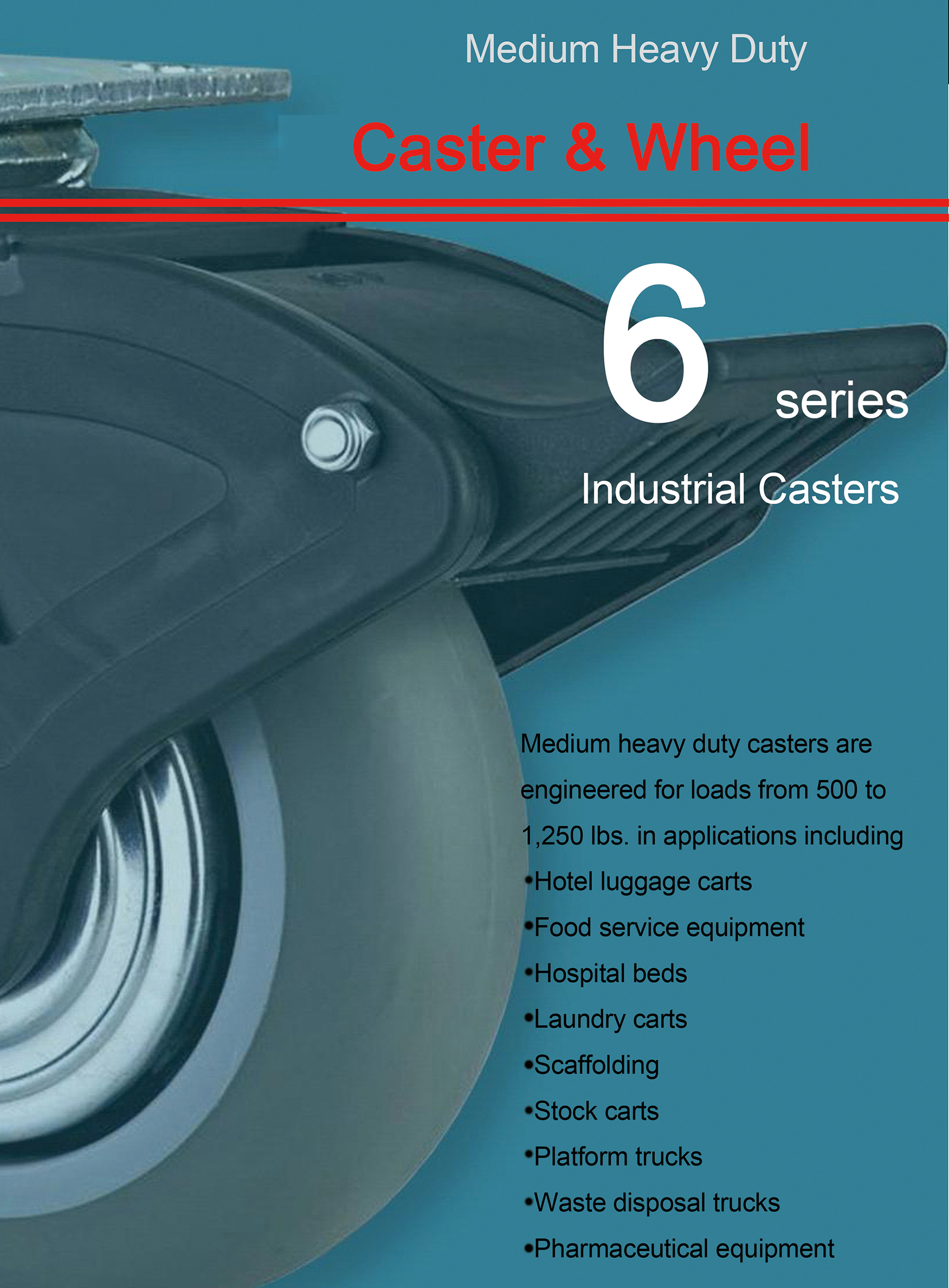 America Standarded Heavy Duty Casters