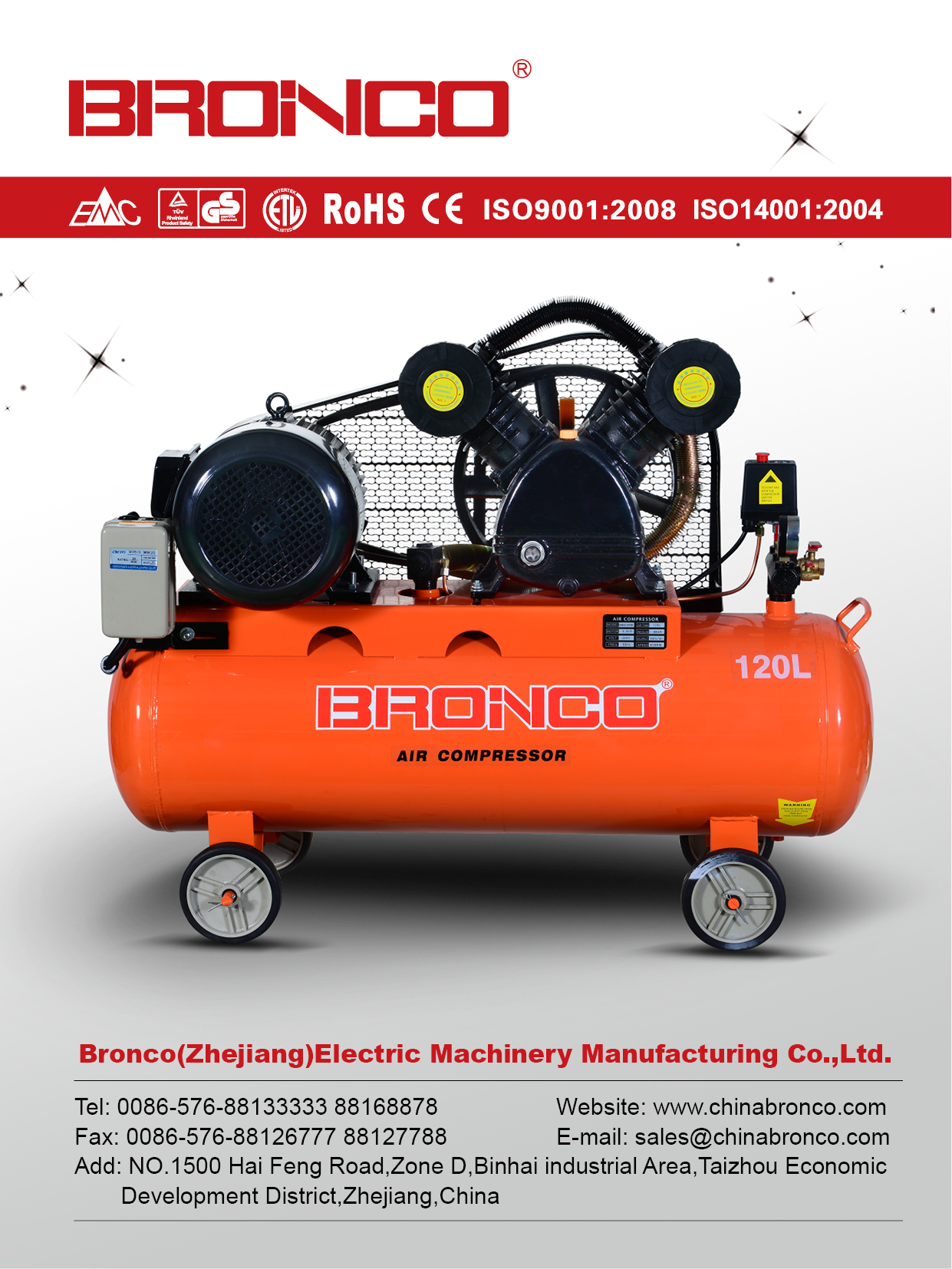 Bronco-Catalogue of air compressor