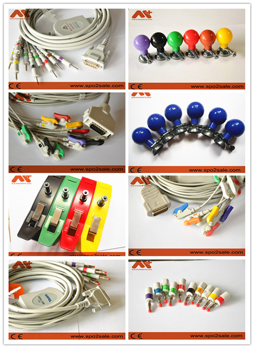 Catalogue Of EKG Cable&Electrode-print