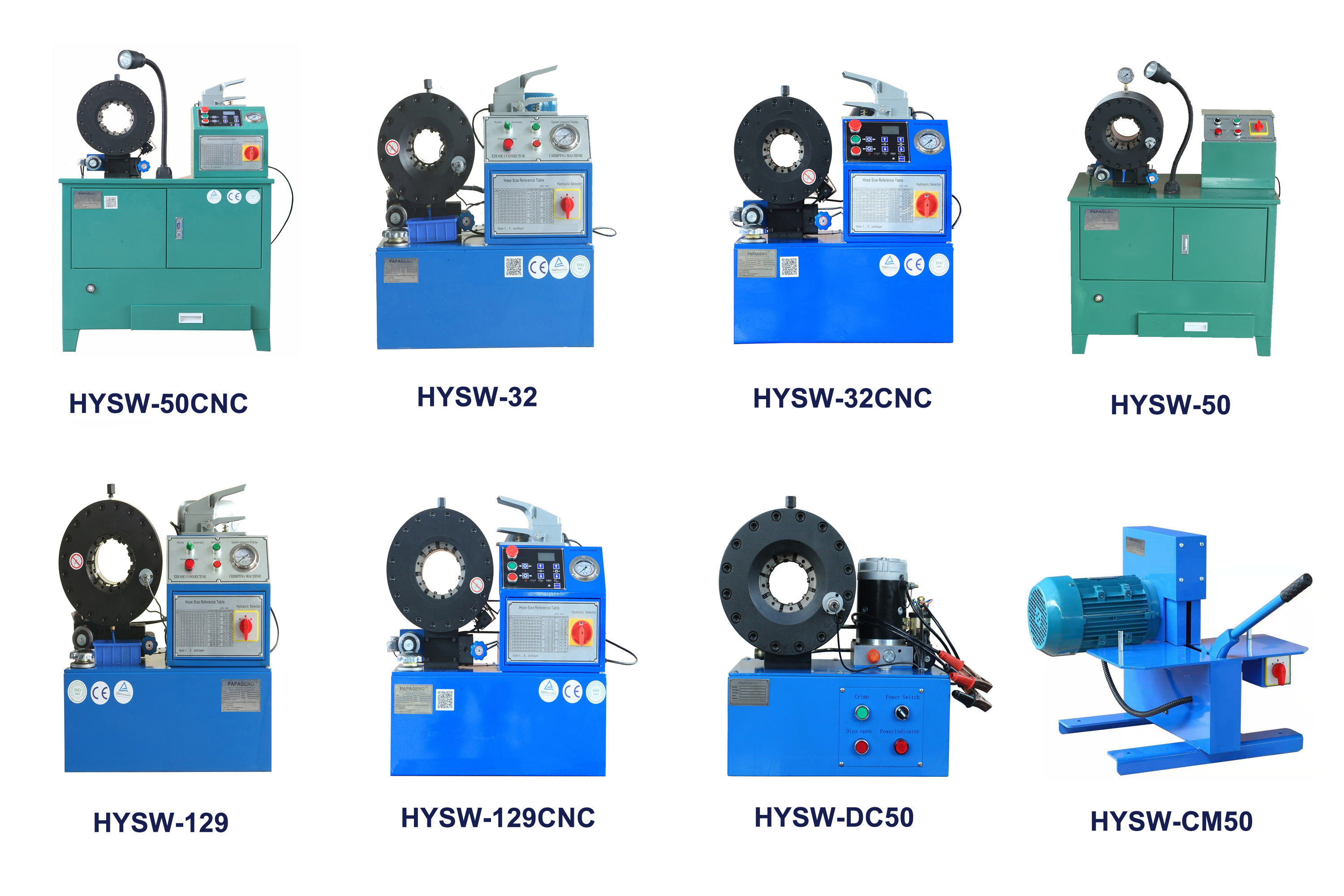Hydraulic Crimping Machines-Papageno Machinery CO.,LTD