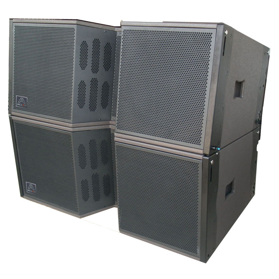 ACLON line array, microphone 2019 new catalogue