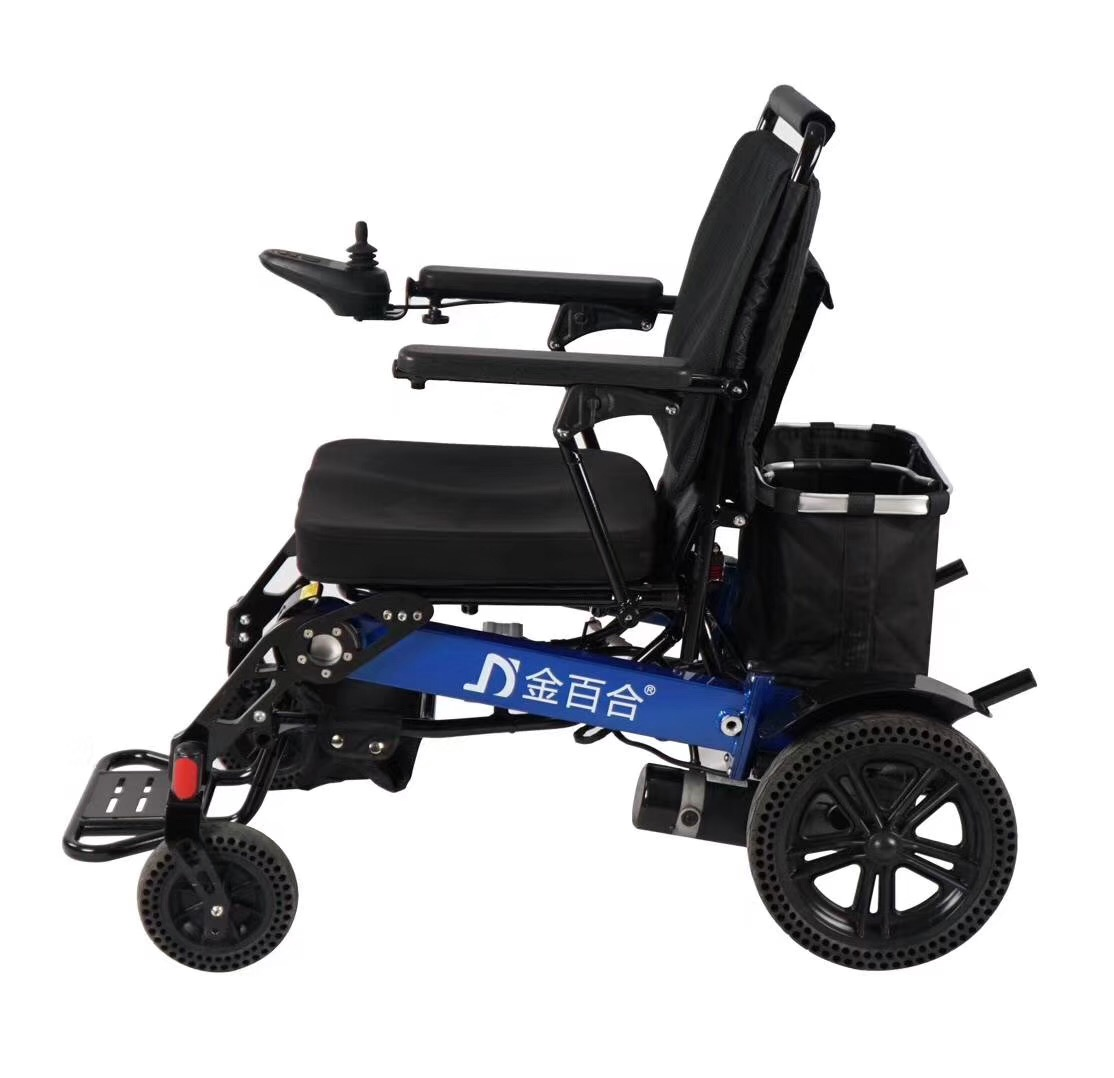 D19 automatic wheelchair with removable motor