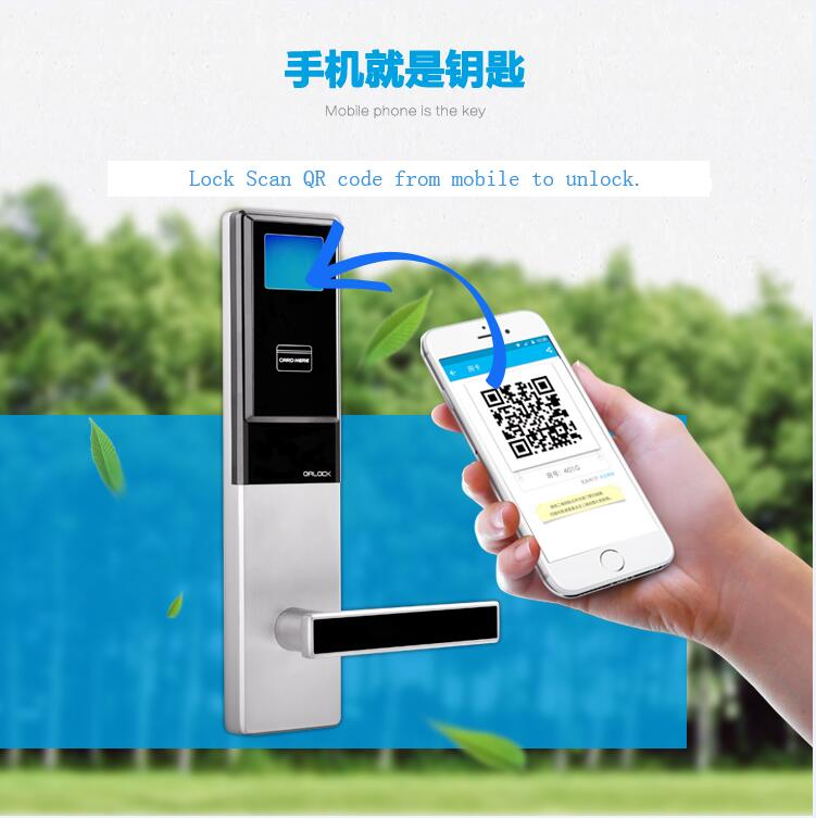QR lock introduction+photo+specification+App info