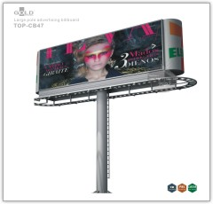 Outdoor Large Pole Billboard