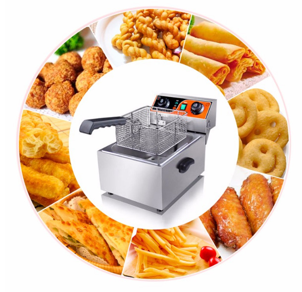 Counter top Commercial electric Fryer from Guangzhou Junjian