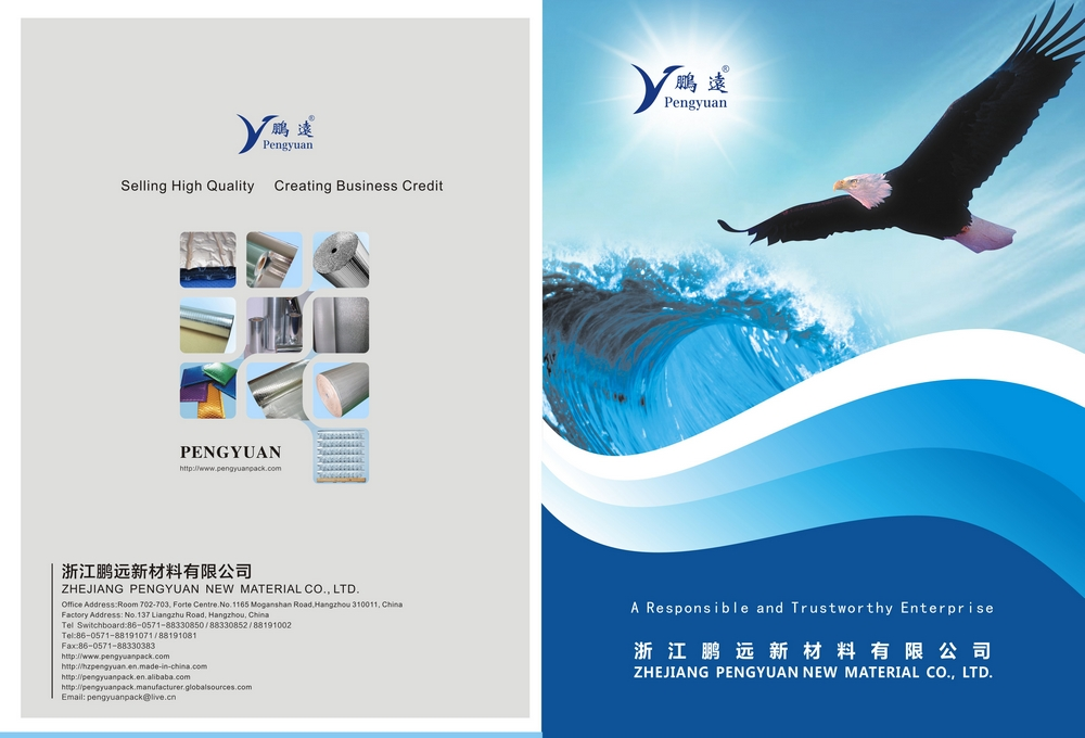 Catalogue from Zhejiang Pengyuan