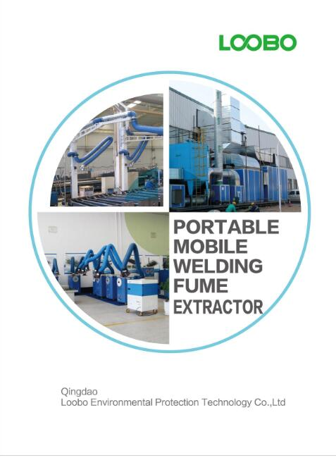 Qingdao Loobo portable fume extractors and dust collectors