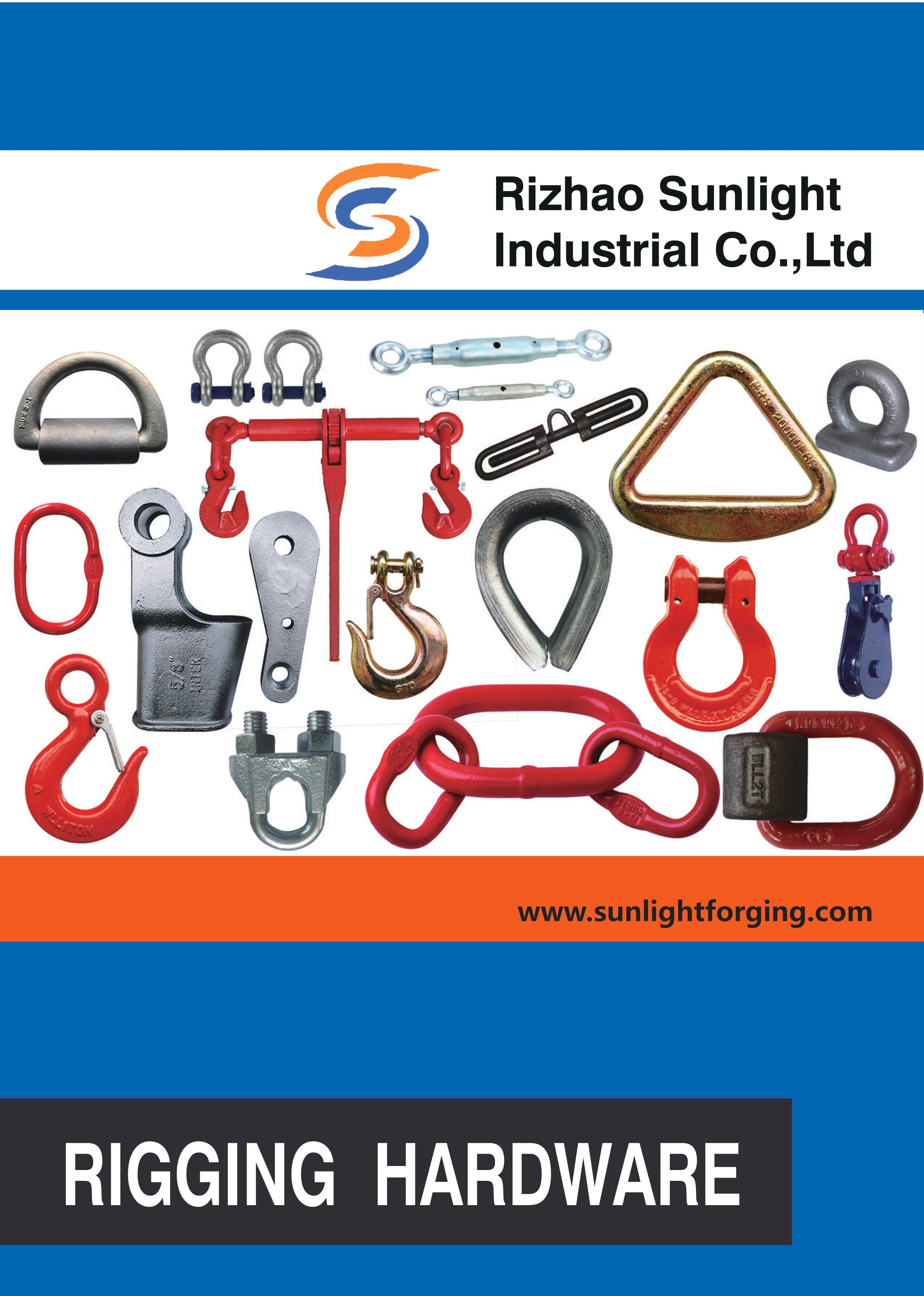 rigging hardware from rizhao sunlight