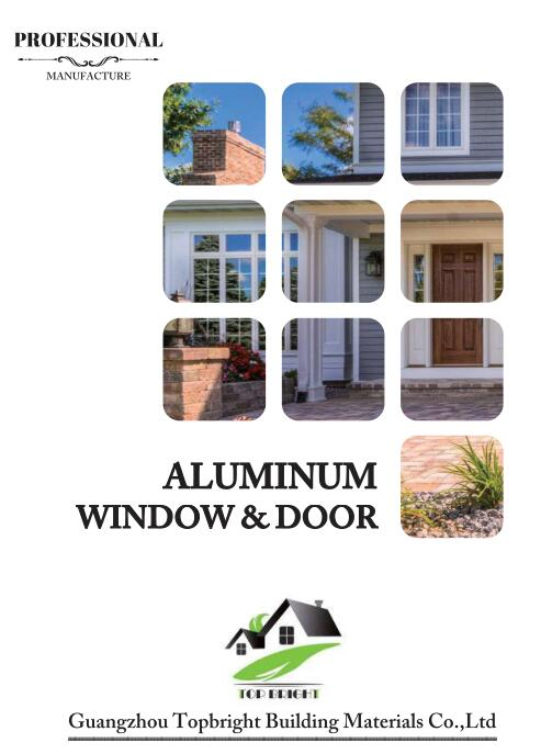2018 Aluminum doors and windows catalogue