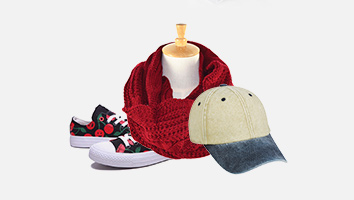 Hat, Gloves, Scarf and Shoes