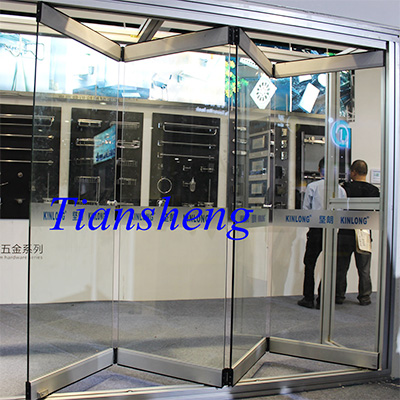 Smart Expo - Commercial Frameless Glass Folding Doors at PROJECT ...