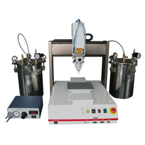 Benchtop Pail Package Double Component Automatic Filling Robot