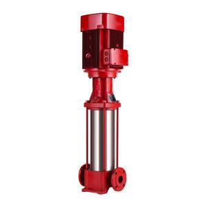 International Certified Fire Pump of Vertical Multistage Stainless Steel Fire Pump