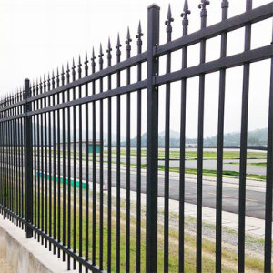 High Quality Iron Fence/Iron Guardrail/ Garden Fence