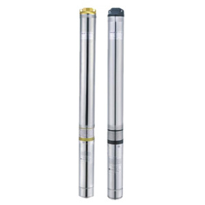 4 Inches 1.0HP Stainless Steel Submersible Deep Well Electric Irrigation Water Pumps