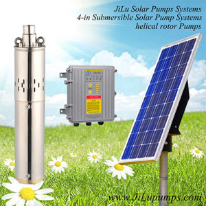 4inch Solar Submersible Water Pump, Irrigation Pump, Helical Rotor Pump, Stainless Steel Pump