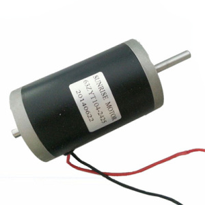 63zyt104-2425 24VDC 45W Double Shfats DC Motor