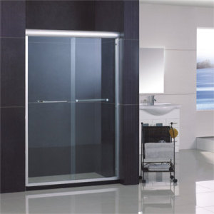 Bypass Shower Door/Shower Screen with Double-Side Easy Clean Nano Coating