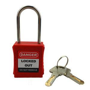 4mm Shackle 40mm Length Master Lock Safety Lockout Padlock