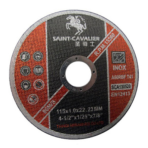 En12413-4.5'stainless Steel Cutting Wheel for Inox 115X1.0X22.2 MPa